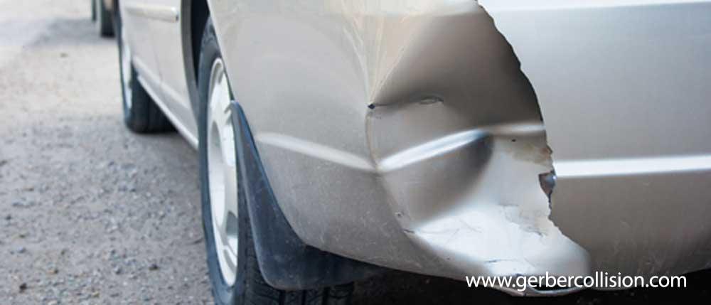 Damaged Car - Fender Bender