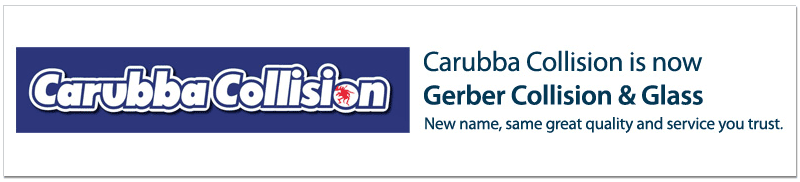 Carubba Collision is now Gerber Collision & Glass
