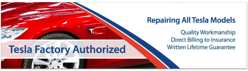 Tesla Approved Auto Body Repair
