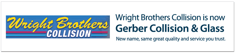 Wright Brother's Collision is now Gerber Collision & Glass